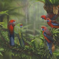 Hidden Gullies   Wallhanging by James Hough   Artists for Conservation 2021