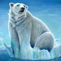 Polar Melt   Wallhanging by Terry Berg   Artists for Conservation 2021