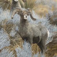 Sagebrush Sentinels | Wallhanging by Johanna Lerwick | Artists for Conservation 2021