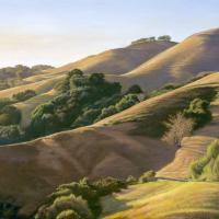 Rolling to the Coast   Wallhanging by Dennis Curry   Artists for Conservation 2021