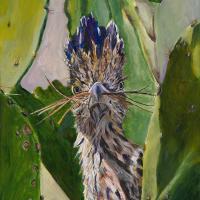 Detoured For Nesting   Wallhanging by Lynn Waltke   Artists for Conservation 2021