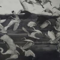 Take Flight | Wallhanging by Patsy Lindamood | Artists for Conservation 2021