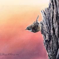 Poised | Wallhanging by William Ritchie | Artists for Conservation 2021