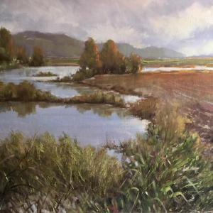 The Art Experience-Painting Outdoors with Marty Coulter with Sandy Brooks