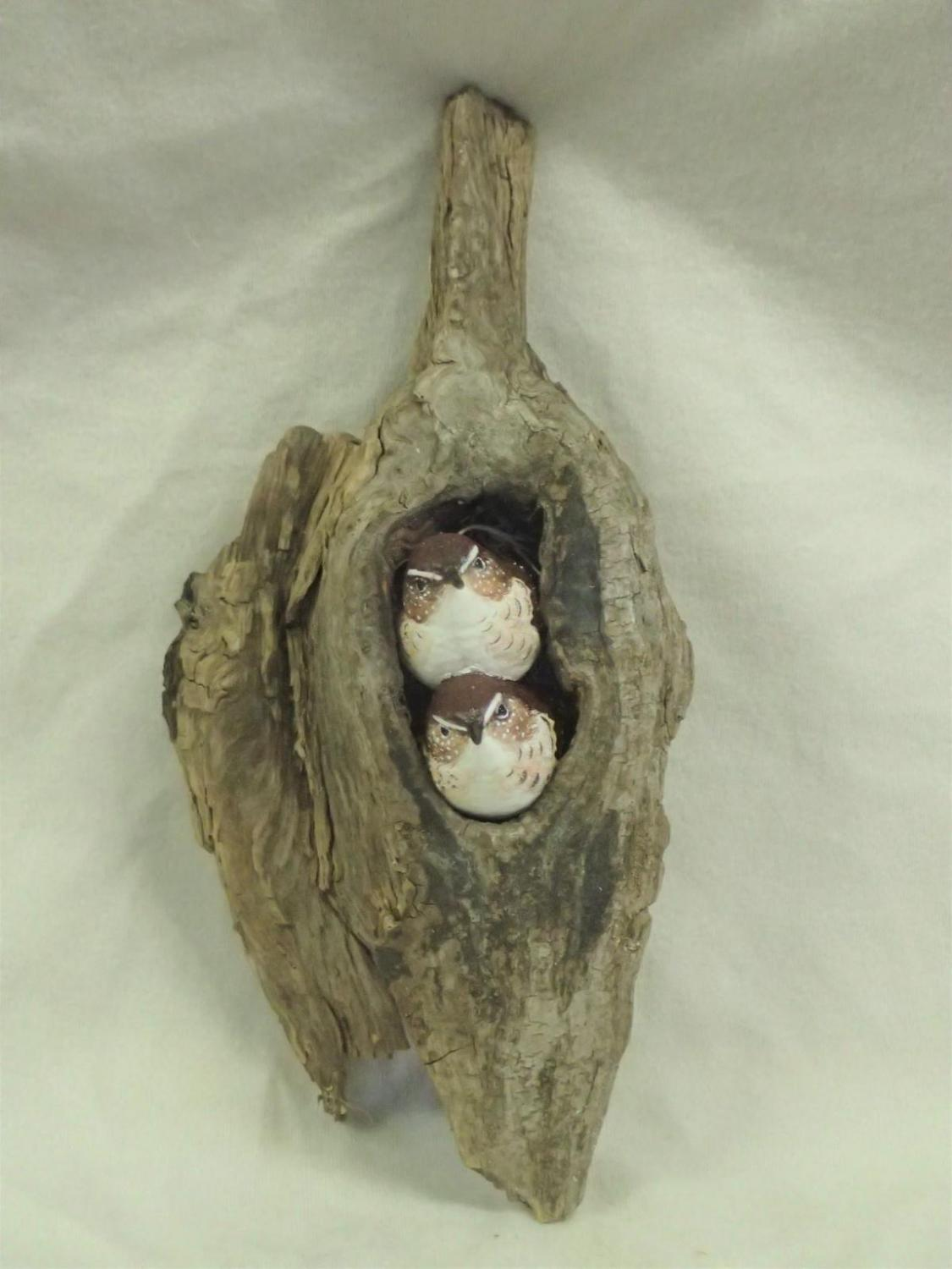 The eye of the Grouper 1 | Sculpture by Betsy Popp | Artists for Conservation